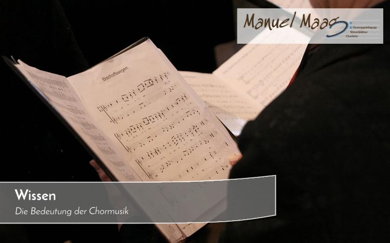 Die Bedeutung der Chormusik