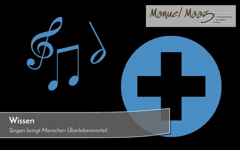 Singen bringt Menschen Überlebensvorteil